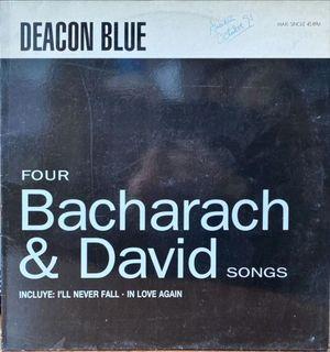 MAXI SINGLE - FOUR BACHARACH & DAVID SONGS