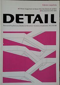 DETAIL / REVISTA DE ARQUITECTURA Nº 8