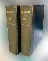 SELECCIONES DEL READER'S DIGEST TOMO I Y II 1972