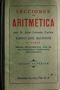 LECCIONES DE ARITMETICA