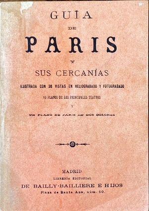 GUIA DE PARIS Y SUS CERCANIAS