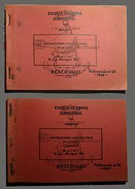 ESCUELA DE ARMAS SUBMARINAS  N� 1948 (TEXTOS Y LAMINAS)