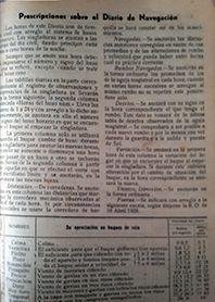 DIARIO DE NAVEGACION