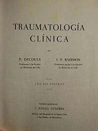 TRAUMATOLOGIA CLINICA