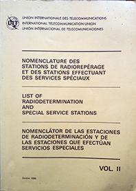 NOMENCLATURE DES STATIONS DE RADIOREPERAGE