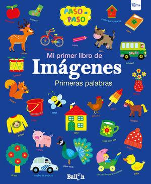 MI PRIMER LIBRO DE IMÁGENES. PRIMERAS PALABRAS