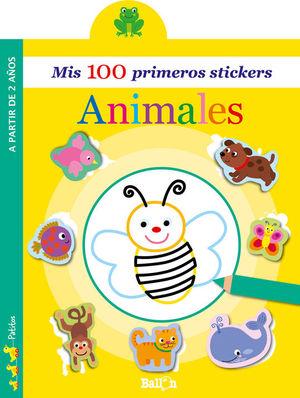 MIS 100 PRIMEROS STICKERS: ANIMALES