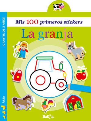 MIS 100 PRIMEROS STICKERS: LA GRANJA