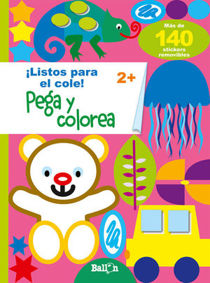 PEGA Y COLOREA 2+