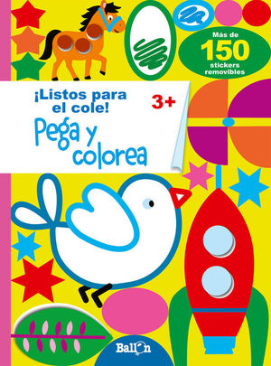 PEGA Y COLOREA 3+
