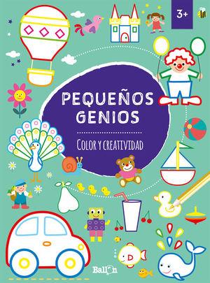 PEQUEÑOS GENIOS. COLOR Y CREATIVIDAD +3