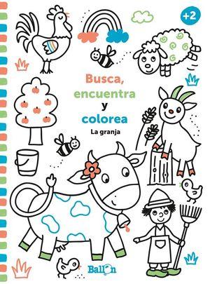 BUSCA, ENCUENTRA Y COLOREA...LA GRANJA