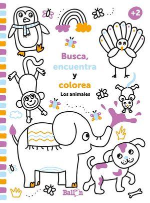 BUSCA, ENCUENTRA Y COLOREA...LOS ANIMALES