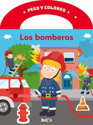 PEGO Y COLOREO - LOS BOMBEROS