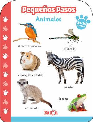 PEQUEÑOS PASOS - ANIMALES (24-36 MESES)
