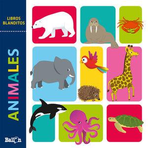 LIBROS BLANDITOS - ANIMALES