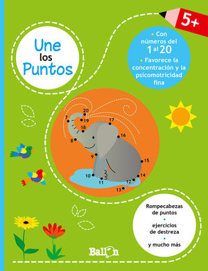 UNE LOS PUNTOS - CON NUMEROS DEL 1 AL 20 (+ 5 AÑOS)