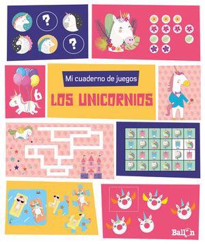 MI CUADERNO DE JUEGOS - LOS UNICORNIOS