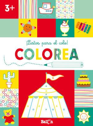 ILISTOS PARA EL COLE! COLOREA +3