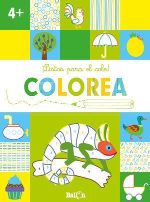 ILISTOS PARA EL COLE! COLOREA +4