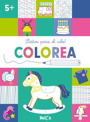 ILISTOS PARA EL COLE! COLOREA +5