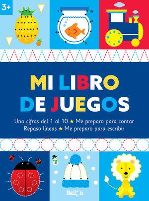MI LIBRO DE JUEGOS +3