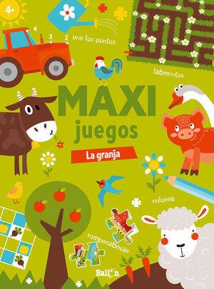 MAXI JUEGOS LA GRANJA +4