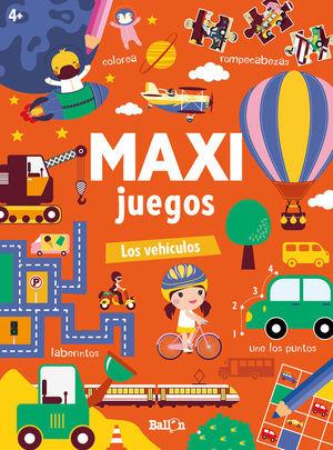 MAXI JUEGOS LOS VEHICULOS +4