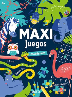 MAXI JUEGOS LOS ANIMALES +4