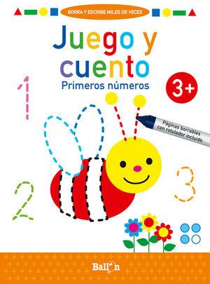 JUEGO Y CUENTO - PRIMEROS NÚMEROS +3