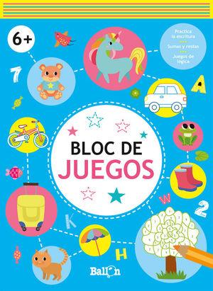 BLOC DE JUEGOS +6 AZUL