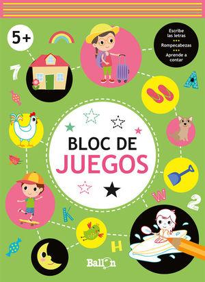 BLOC DE JUEGOS +5 VERDE