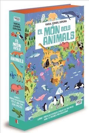 MUNDO DE LOS ANIMALES, LOS (LIBRO + PUZZLE OVALADO)