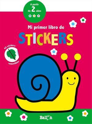 MI PRIMER LIBRO DE STICKERS - CARACOL