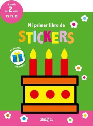 MI PRIMER LIBRO DE STICKERS - CUMPLEAÑOS