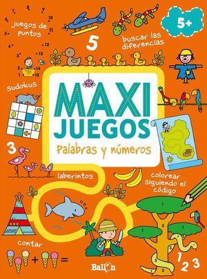 MAXI JUEGOS PALABRAS Y NUMEROS