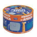 ANIMALES DE AFRICA (CAJA REDONDA)