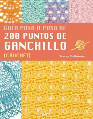 GUIA PASO A PASO DE 200 PUNTOS DE GANCHILLO CROCHET