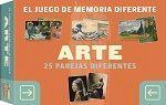 JUEGO DE MEMORIA DIFERENTE. ARTE: 25 PAREJAS DIFERENTES
