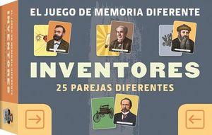 EL JUEGO DE MEMORIA DIFERENTE: INVENTORES. 25 PAREJAS DIFERENTES