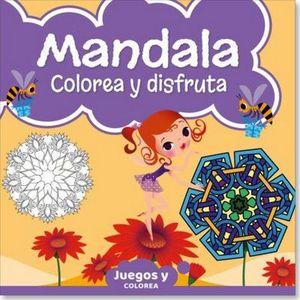 MANDALA JUNIOR COLOREA Y DISFRUTA