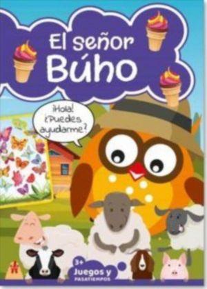 JUEGOS Y PASATIEMPOS EL SEÑOR BUHO +3