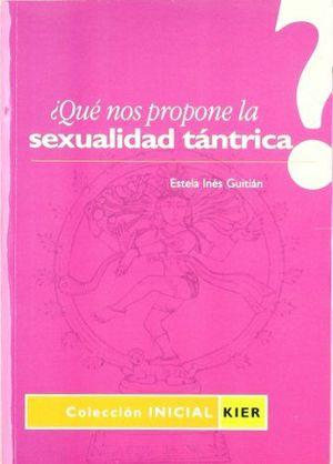 QUÉ NOS PROPONE LA SEXUALIDAD TÁNTRICA?