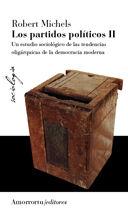 LOS PARTIDOS POLÍTICOS, VOL 2 (2A ED)