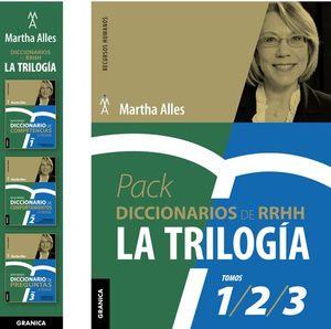 PACK DICCIONARIOS DE RRHH. LA TRILOGIA (PACK TRES VOLÚMENES)