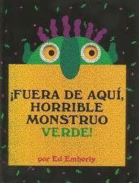 FUERA DE AQUI, HORRIBLE MONSTRUO VERDE
