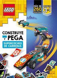 LEGO: CONSTRUYE Y PEGA SUPERCOCHES DE CARRERAS